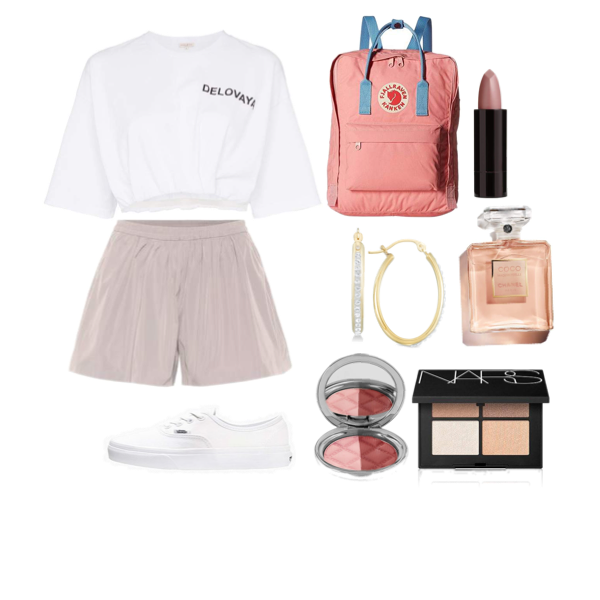 Like my look? Tag someone who would wear it. #firstdayofschooloutfits first day of school outfit❤️ #firstdayofschooloutfits