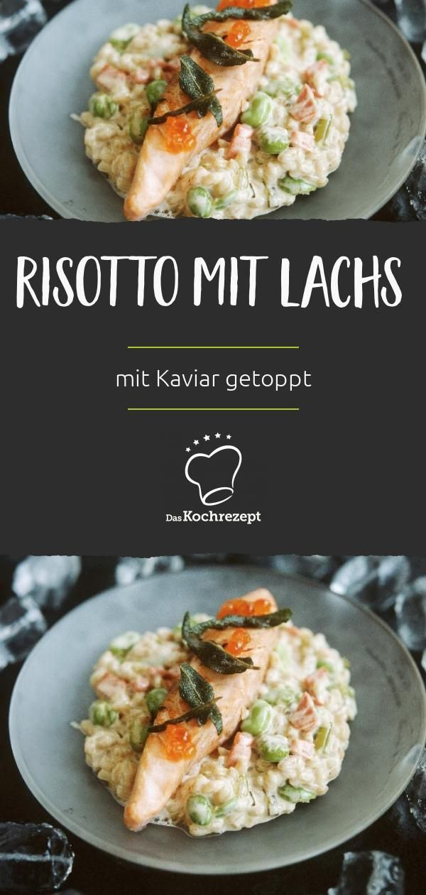 Risotto mit Lachs #falldinnerrecipes
