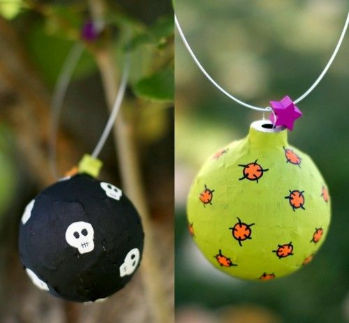 How To Make Colorful Halloween Ornaments halloween Pinterest - decorations to make for halloween
