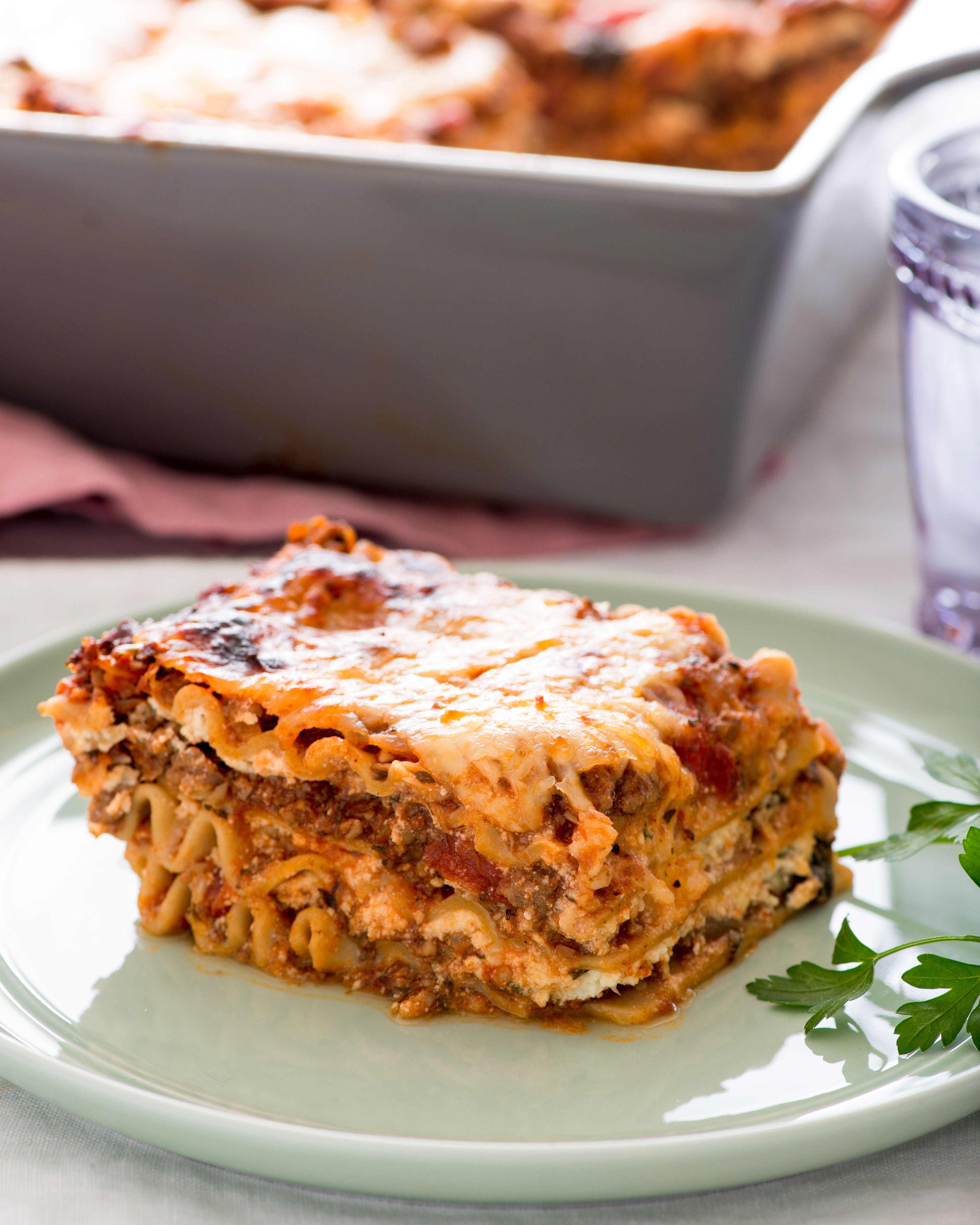 Recipe Meaty Mushroom Lasagna Recipe Recipes Mushroom Lasagna Stuffed Mushrooms