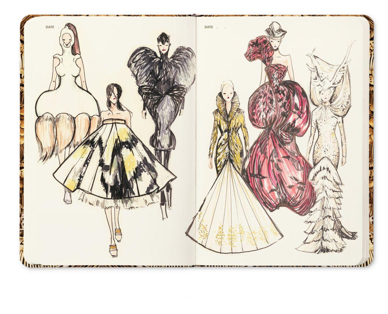 Savage Beauty Fashion Illustration On Fashionary