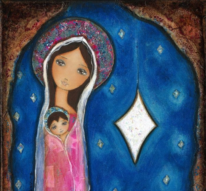 nativity-star-iii-by-flor-larios-prints.jpg (700×648)