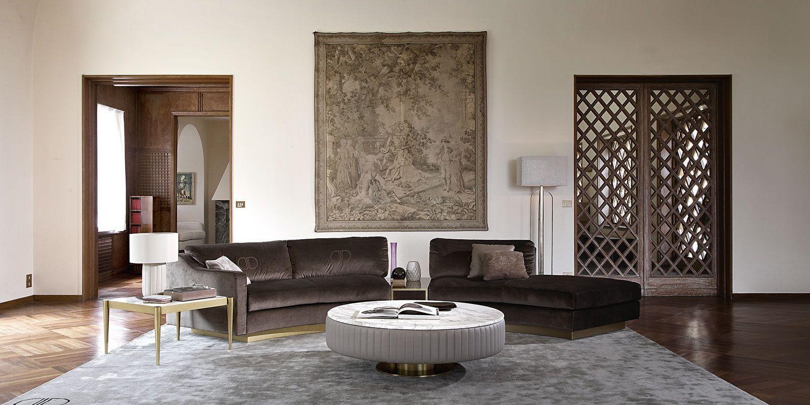 Daytona arredamento contemporaneo moderno di lusso e mobili stile art dec per space living - Mobili stile contemporaneo moderno ...