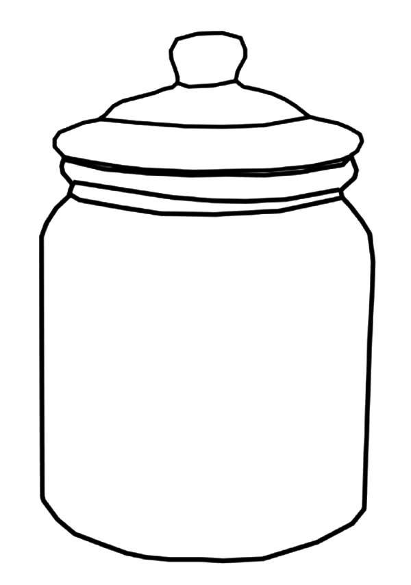 Candy Jar Coloring Page Google Search șabloane Fructe