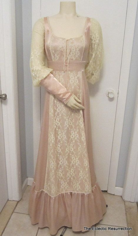 Vintage Gunne Sax Wedding Dress By Jessica Mcclintock By