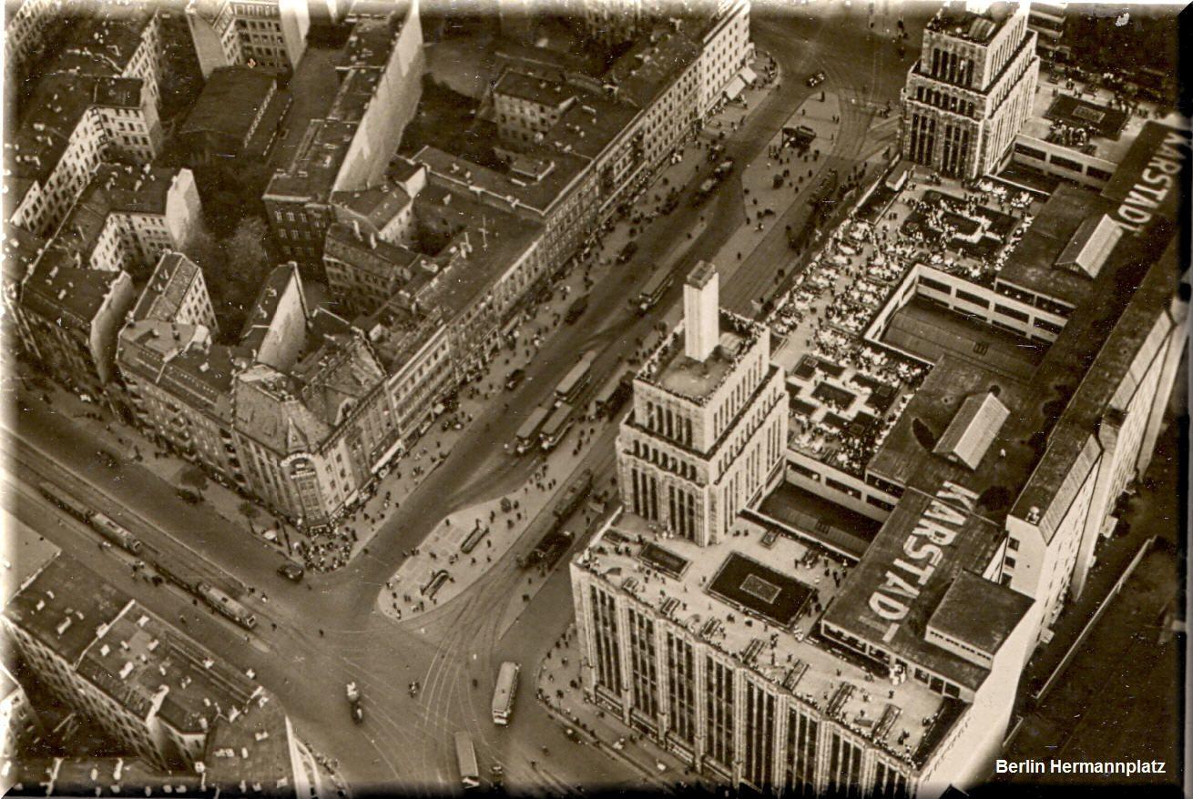 Berlin Hermannplatz 1930 Historic - 1900 1947