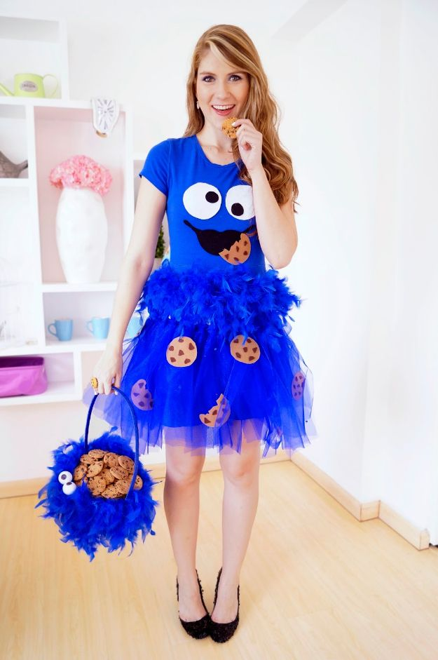 30 halloween costumes that will win the contest every time best diy halloween costume ideas homemade cookie monster costume do it yourself costumes for women men teens adults and couples solutioingenieria Image collections