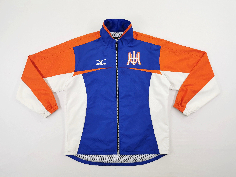 Mizuno Jacket Vintage Size Jaspo S Mizuno Windbreaker Mizuno Windbreaker Jacket Size L