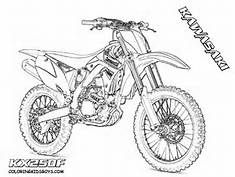 Drawings Dirtbike Bing Images Bike Drawing Motorbike Drawing