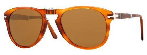 cf59ac1f11 Persol PO0714 96 33 Light Havana Sunglasses with Brown Lenses 54mm 714 96 33  54 Persol.  155.00. Save 42% Off!