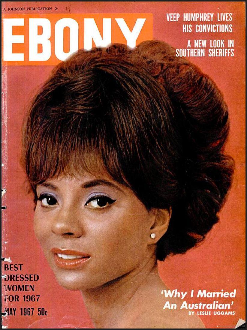 ebony magazine, may 1967 — leslie uggams   soul, baby, soul 2