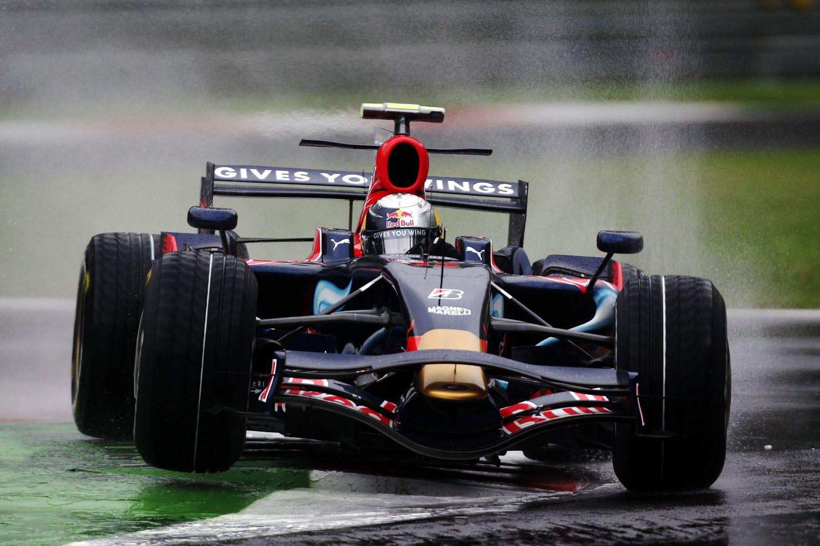 2008 Monza Toro Rosso STR3 Sebastian Vettel