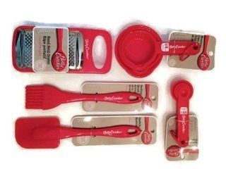 Betty Crocker 5 Piece Kitchen Essentials Set in Red ** Click image to review more details.