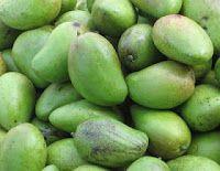 Surinaams eten!: Surinaamse hete chutney sambal van groene mango