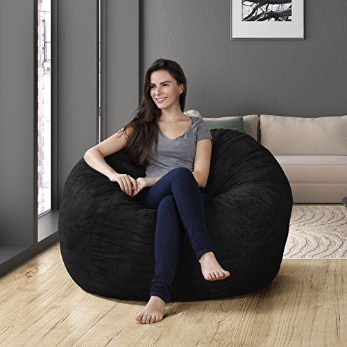 Strange Big Joe 98 Inch Bean Bag Limo Black Bean Bag Chair Large Onthecornerstone Fun Painted Chair Ideas Images Onthecornerstoneorg