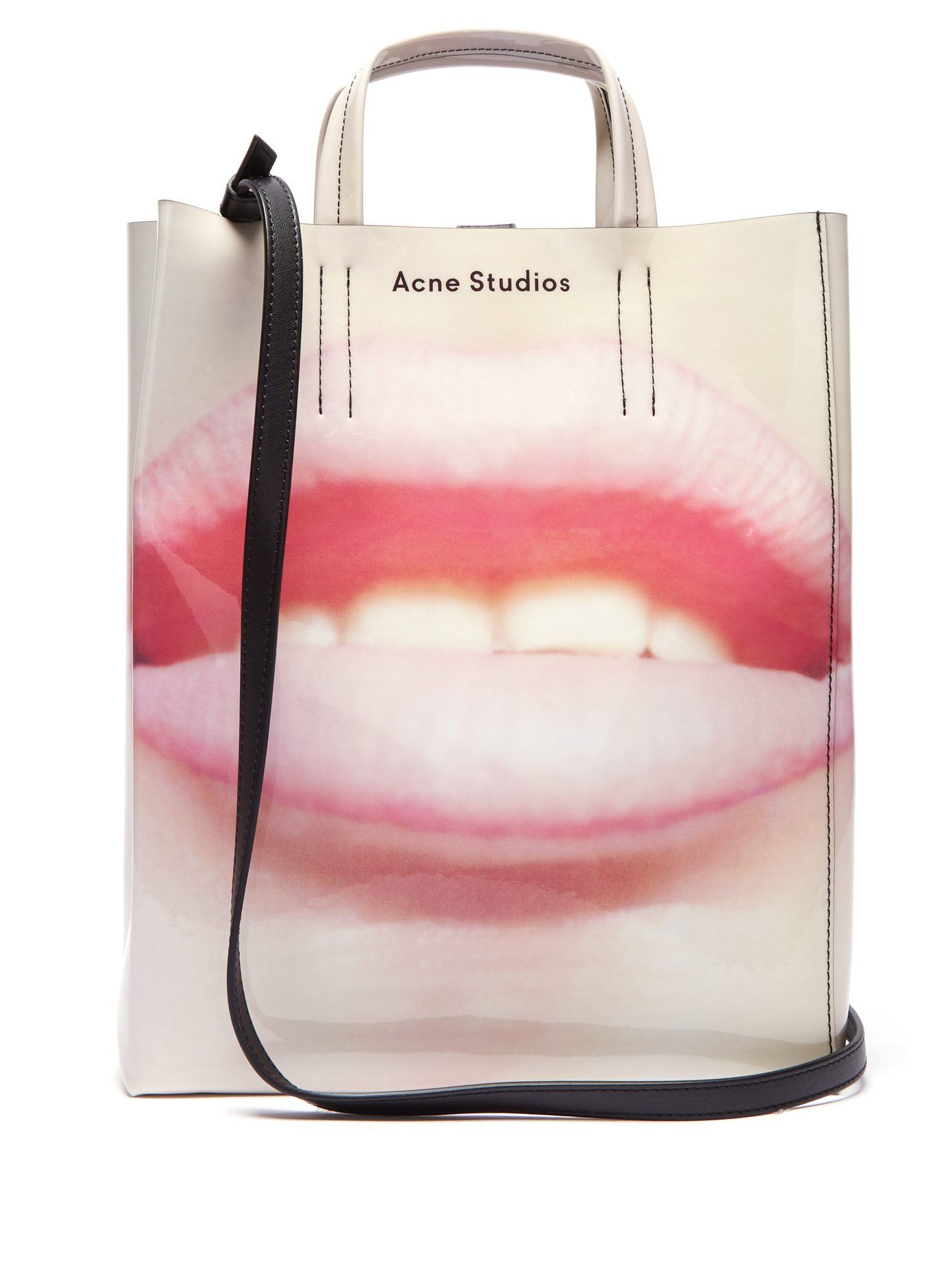 a0b687f996d Baker lip-print tote bag | Acne Studios | Edgy Bags in 2019 ...
