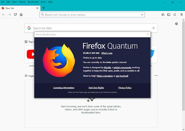 تحميل متصفح الإنترنت موزيلا فايرفوكس Mozilla Firefox Quantum 65 0b12 تحميل متصفح الإنترنت Mozilla Firefox Q Quantum Linux Operating System Firefox