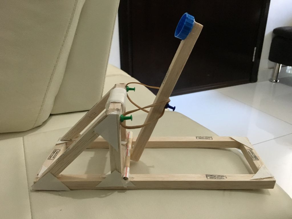 School Dt Projects Model Roman Catapult Wooden Toys and Craft