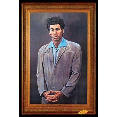 Buy Art For Less Cosmo Kramer Portrait Seinfeld Tv Show Framed