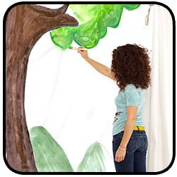 Tempaper by You - For the Artist in Everyone.    Now you can paint your room or your child's room just as you'd like.