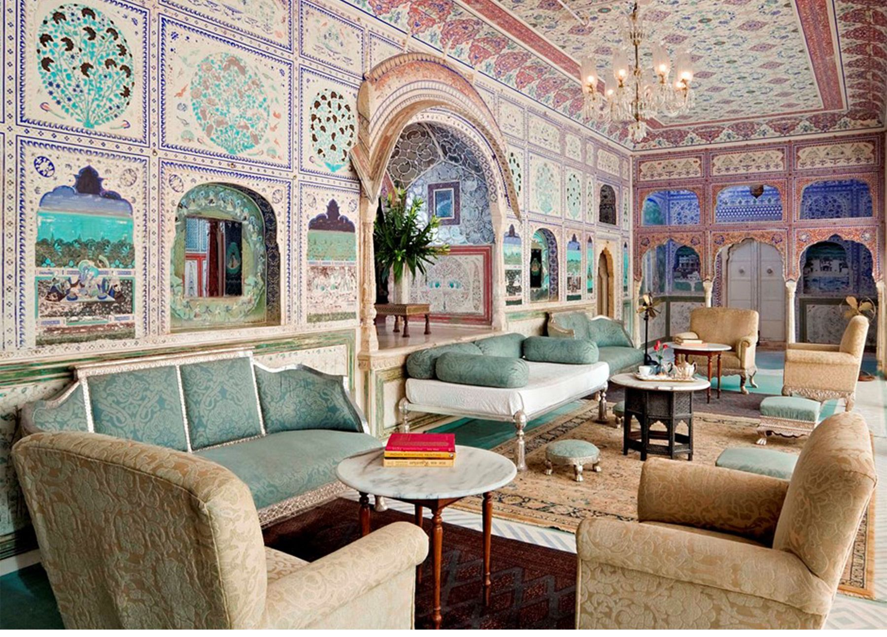 Samode Palace Jaipur Rajasthan India Great Escapes