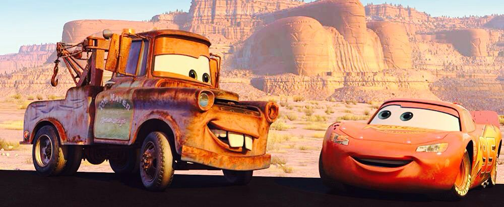 Mater and Lighting McQueen