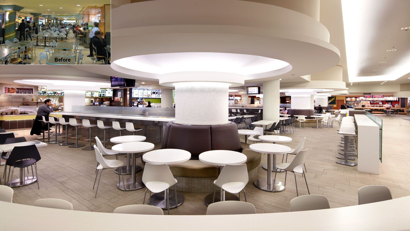 Promenades cath drale food court gha design retail - Boston interiors clearance center ...