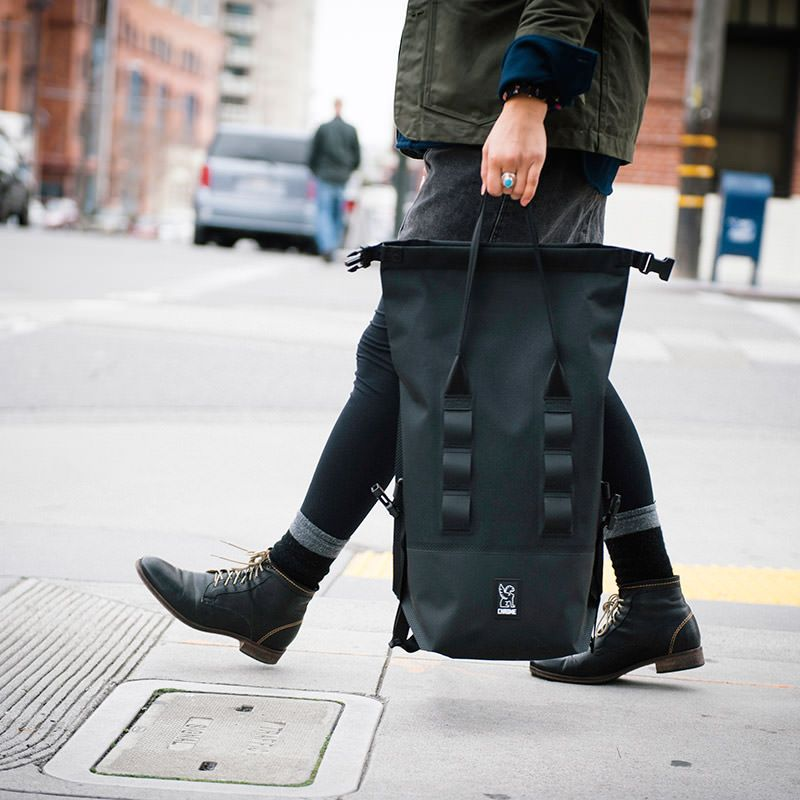 Tote or backpack, the Chrome Urban Ex Rolltop 18 is waterproof and perfect for trips around the city