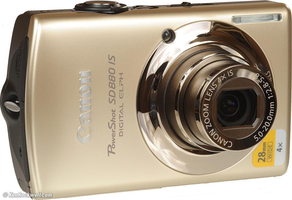 Canon Powershot Sd880 Is 10mp Powershot Fujifilm Instax Mini Canon Powershot