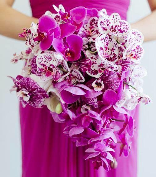 Purple Orchid Wedding Bouquet Purple Orchid Wedding Orchid