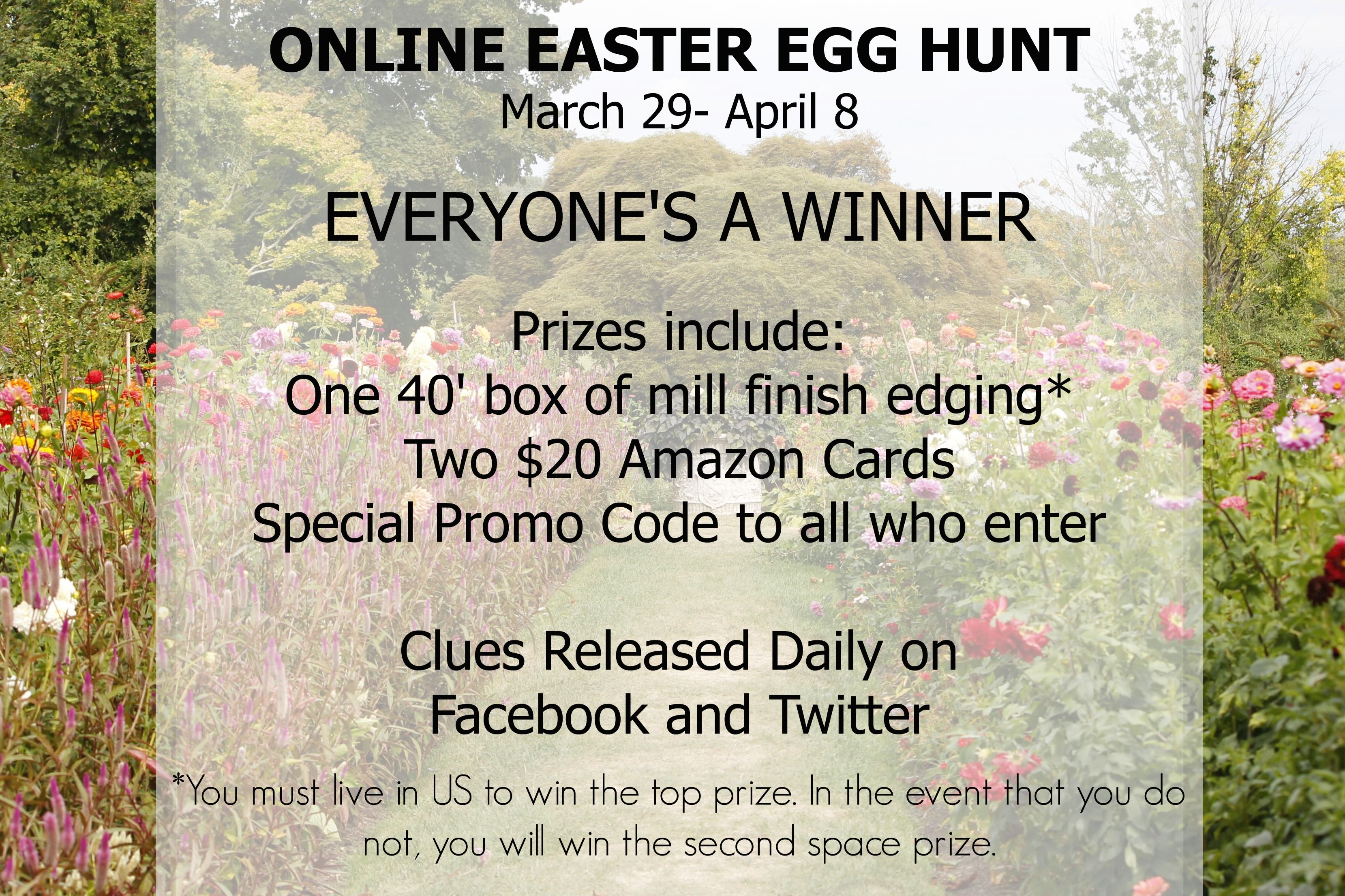 Everyone is a Winner! Who's In? http://ow.ly/Kyni5 #EasterEggHunt #Contest #Win #Free