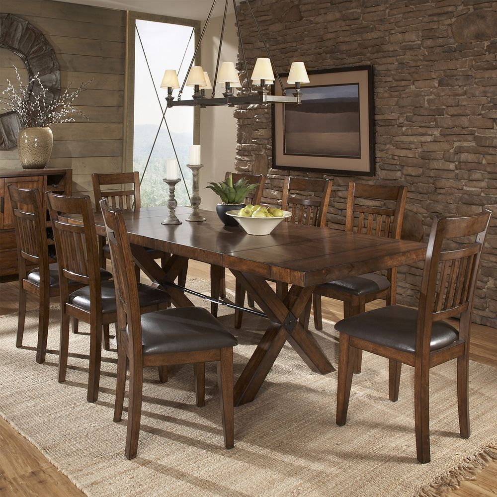Beau TRIBECCA HOME Inverness Warm Oak Turnbuckle Extending Dining Table    Overstock™ Shopping   Great Deals