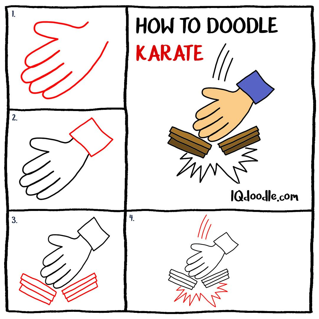 How To Doodle Karate