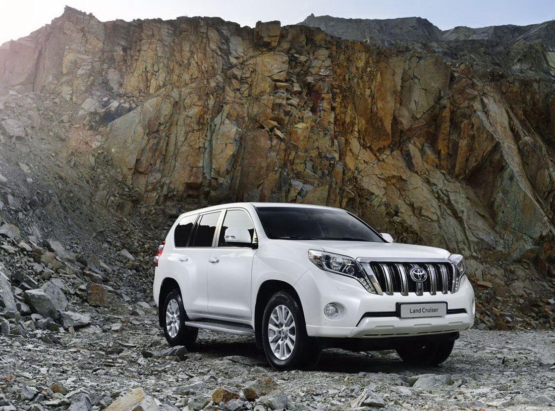 Toyota land cruiser prado the mr of off roading