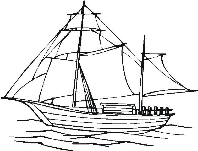 15 Beau De Bateau A Imprimer Galerie Sailing Ships Boat Sailing
