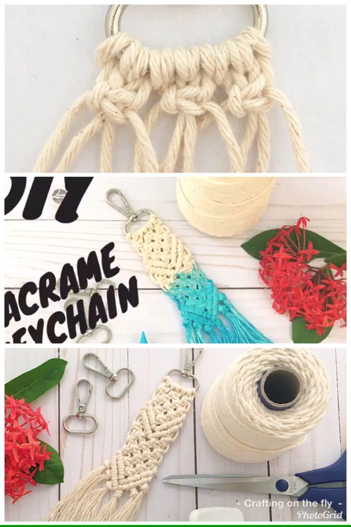 Photo of Macrame Keychain Easy DIY Tutorial