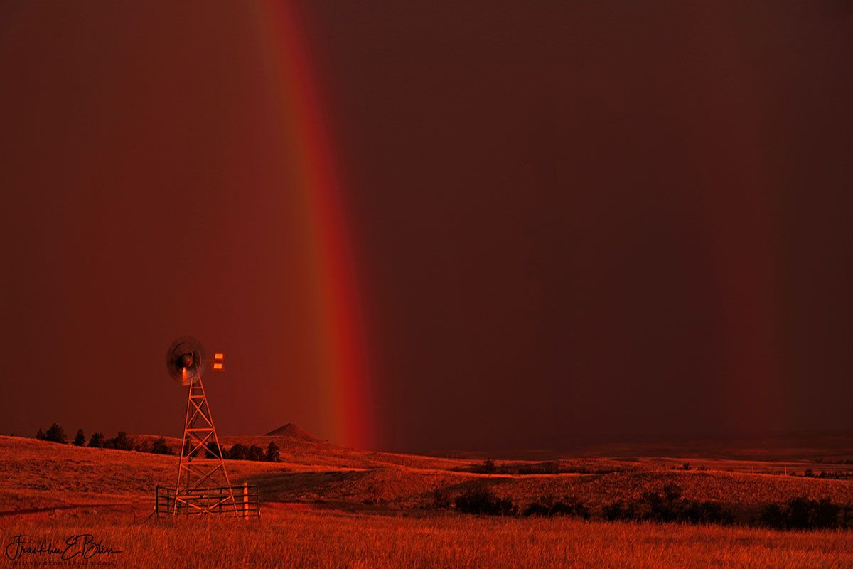 Red Double Rainbow Bliss Photographics Rainbow Rainbow Light Shoot Invert Colors