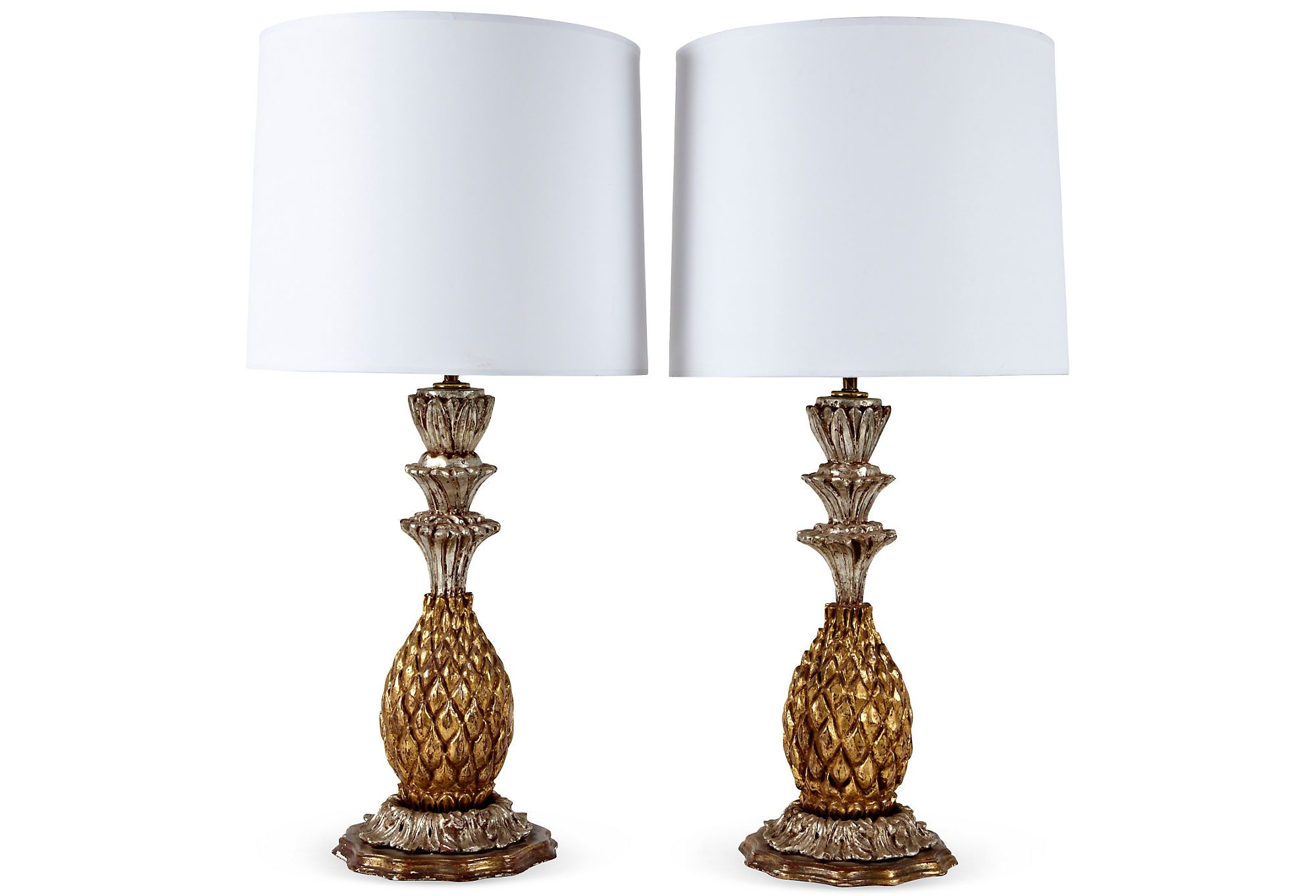 1940s Italian Table Lamps Pair On One Kings Lane Today Lamp Table Lamp Italian Table