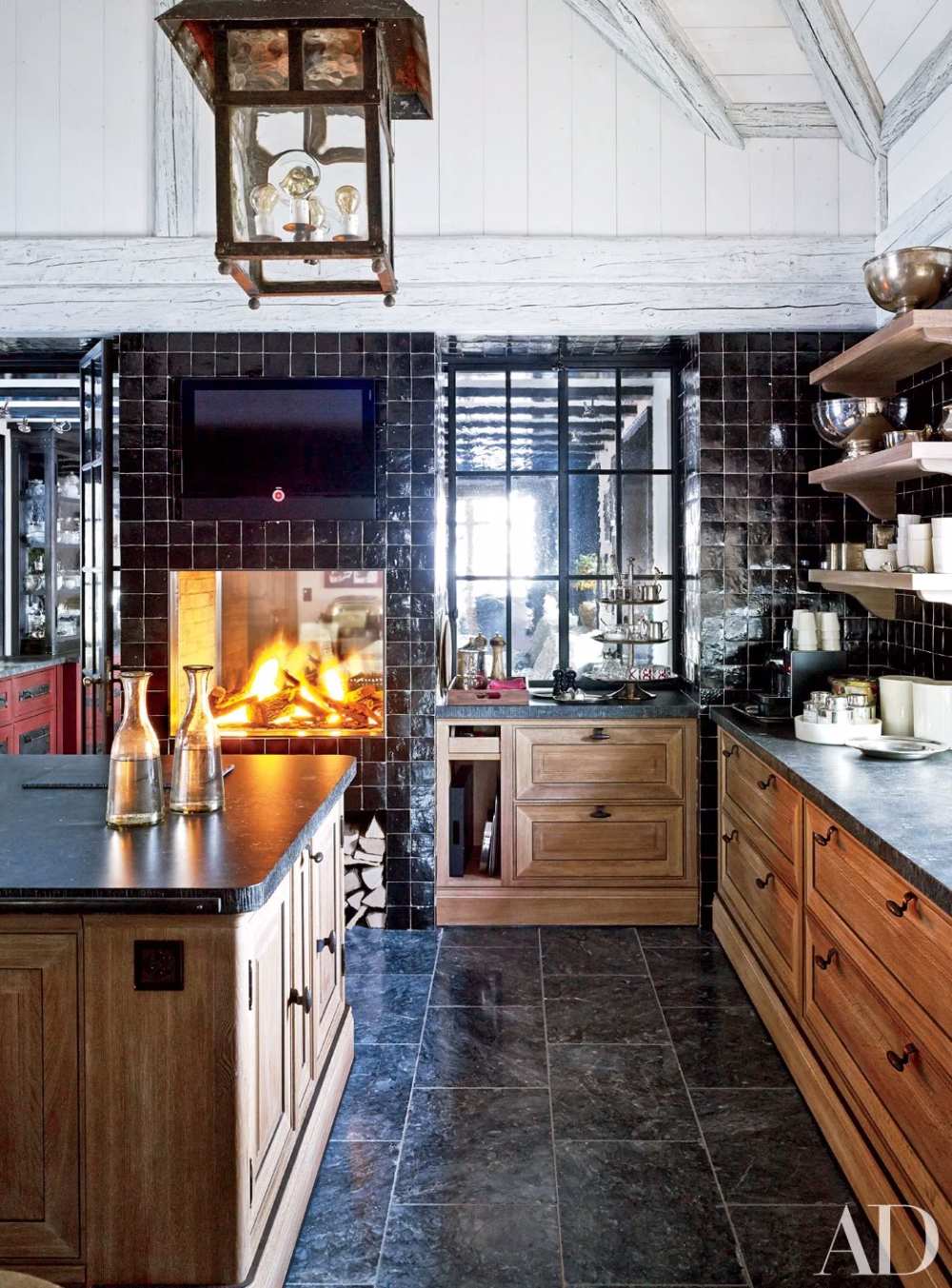 25 black countertops to inspire your kitchen renovation black kitchen countertops kitchen on kitchen decor black countertop id=94196