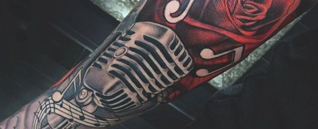 To let your ink speak loud and clear, explore these top 90 best microphone tattoo designs for men. Discover musical themed singer and listener art ideas.