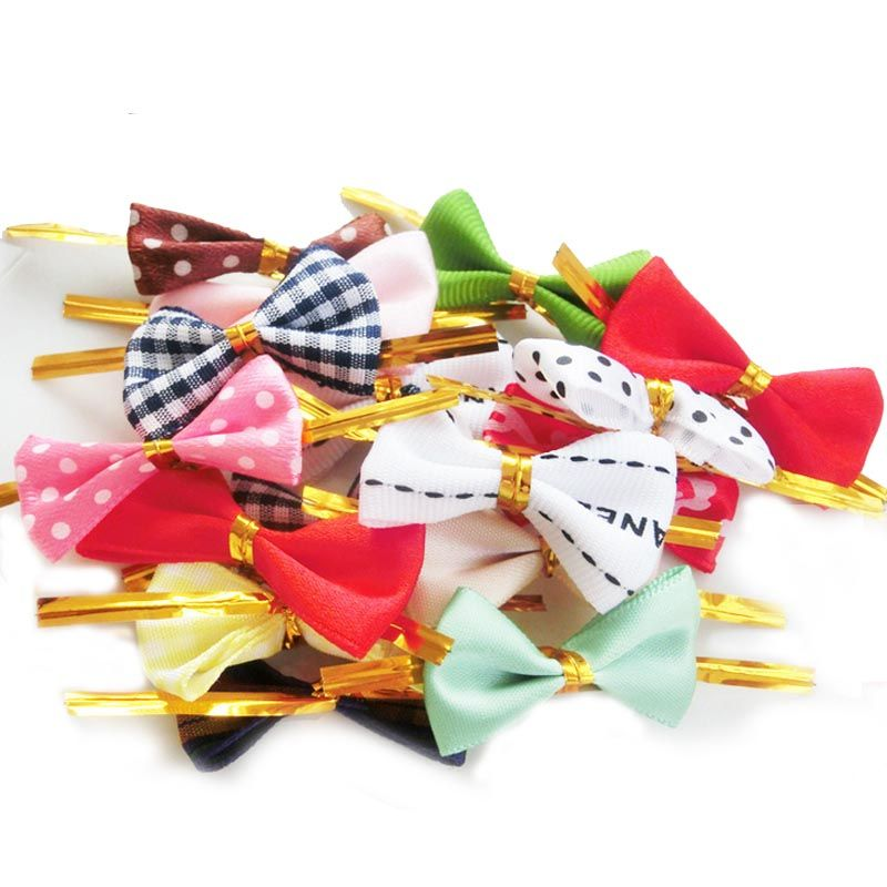 >> Click to Buy << 50pcs/set Baking Bread Bag Sealing Lovely Bow Knot Cookie Packing Bags Wire Lollipop Cake Packing #Affiliate