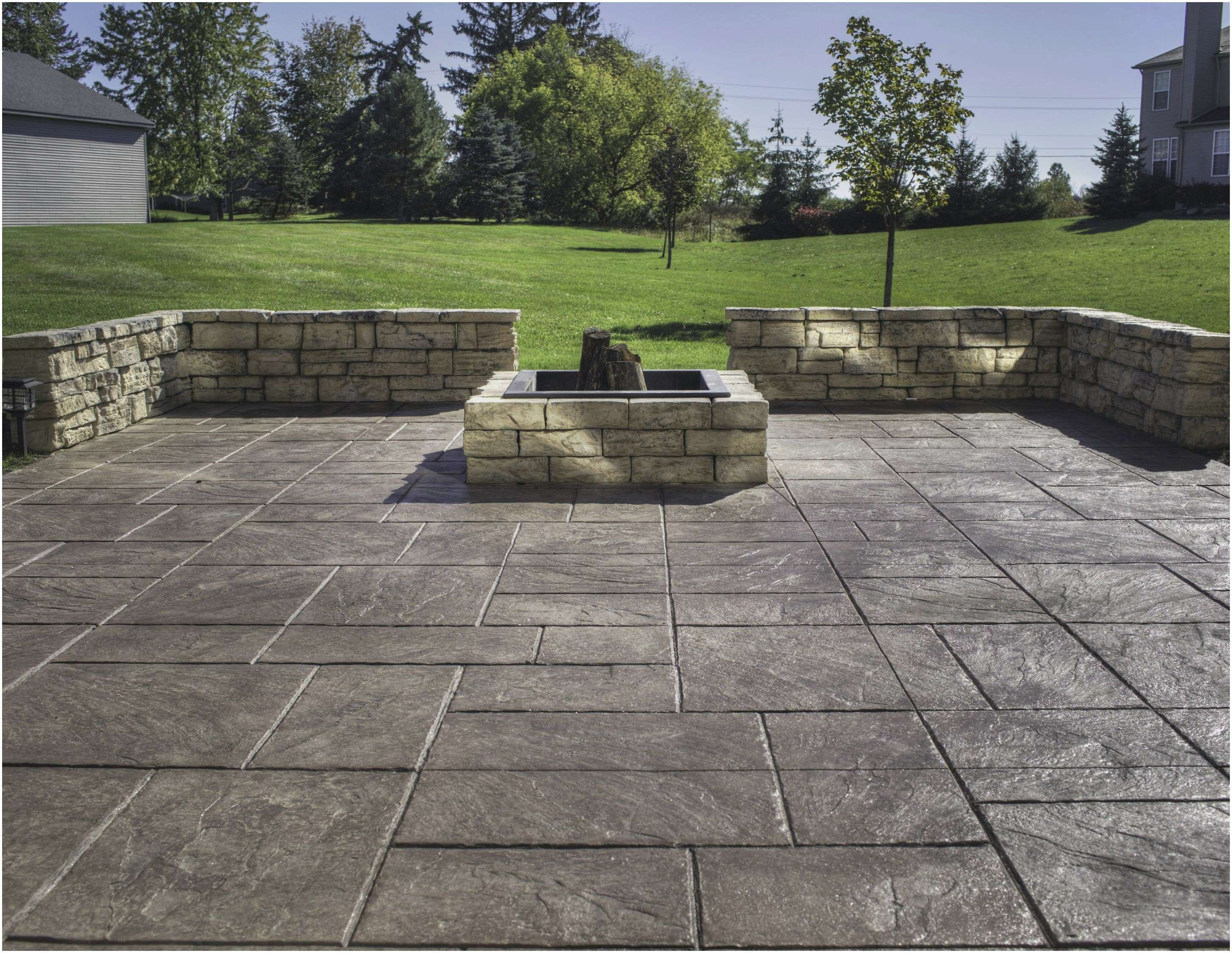 Have Cement Patios Which Are Long Lasting Poured Concrete Patio Concrete Backyard Concrete Patio Designs
