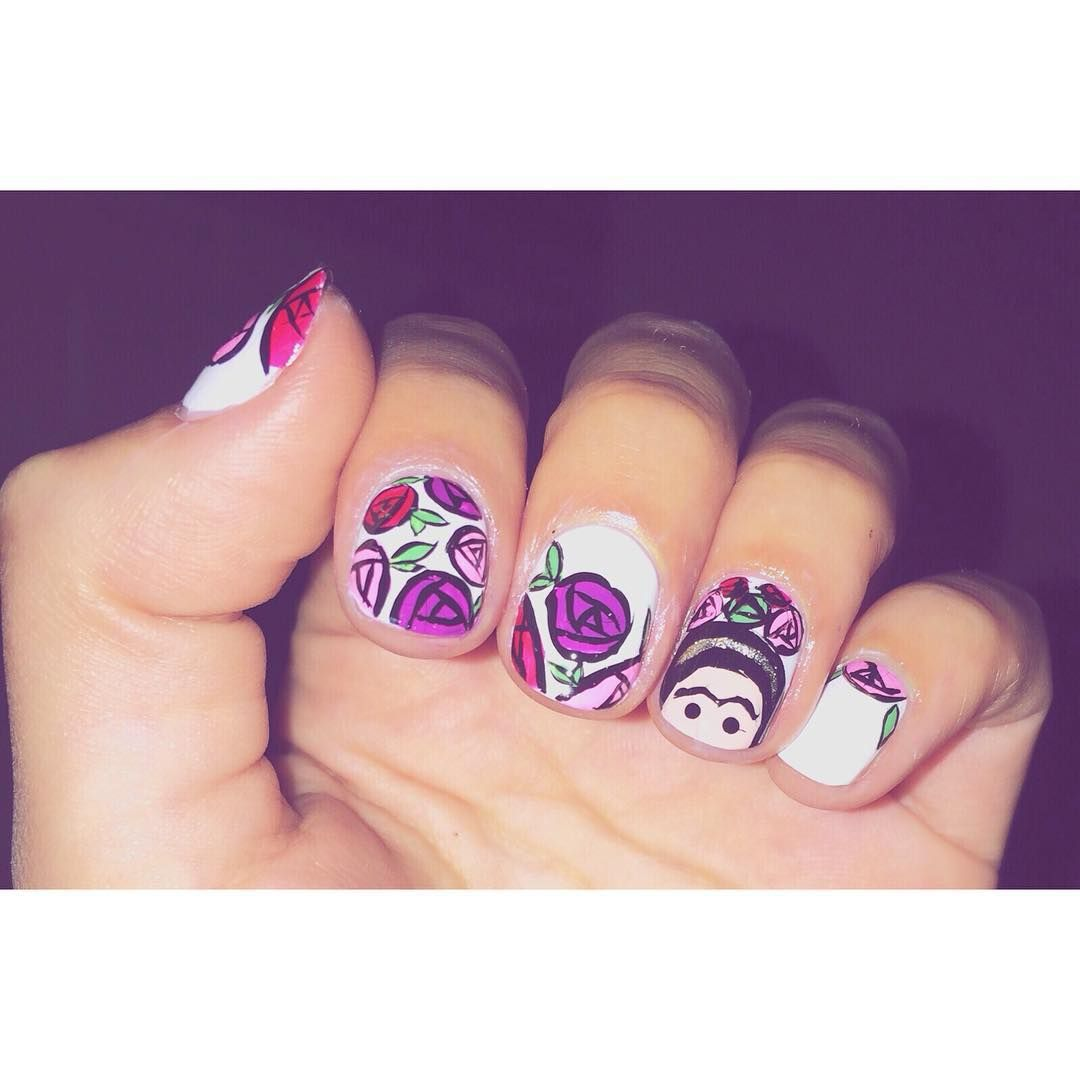 25 Frida Kahlo Nail Art Ideas That Are a Work of Art | Beauty ...