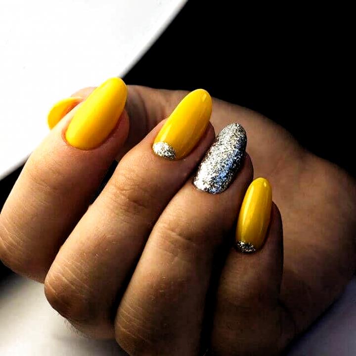 Bright spring nails, brilliant nails, Fall nails 2019, Ideas of colorful nails, Moon on the nails, Nails ideas 2019, Nai