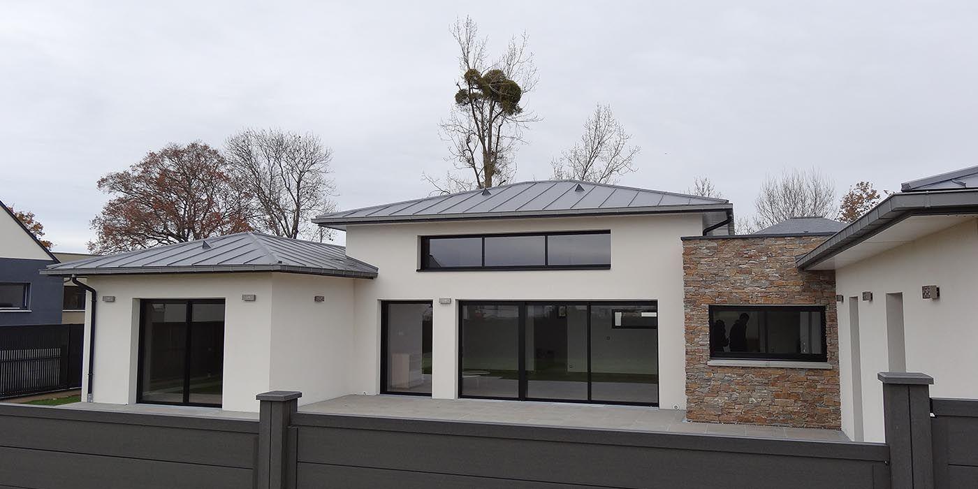 Constructeur De Maison Rennes maison melesse (35) - maison de plain-pied au nord de rennes