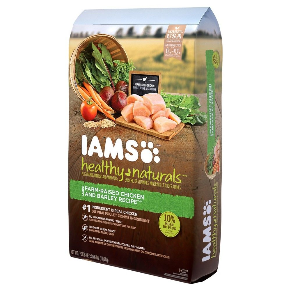Iams Healthy Naturals Adult Dog Chicken And Barley Recipe Dry