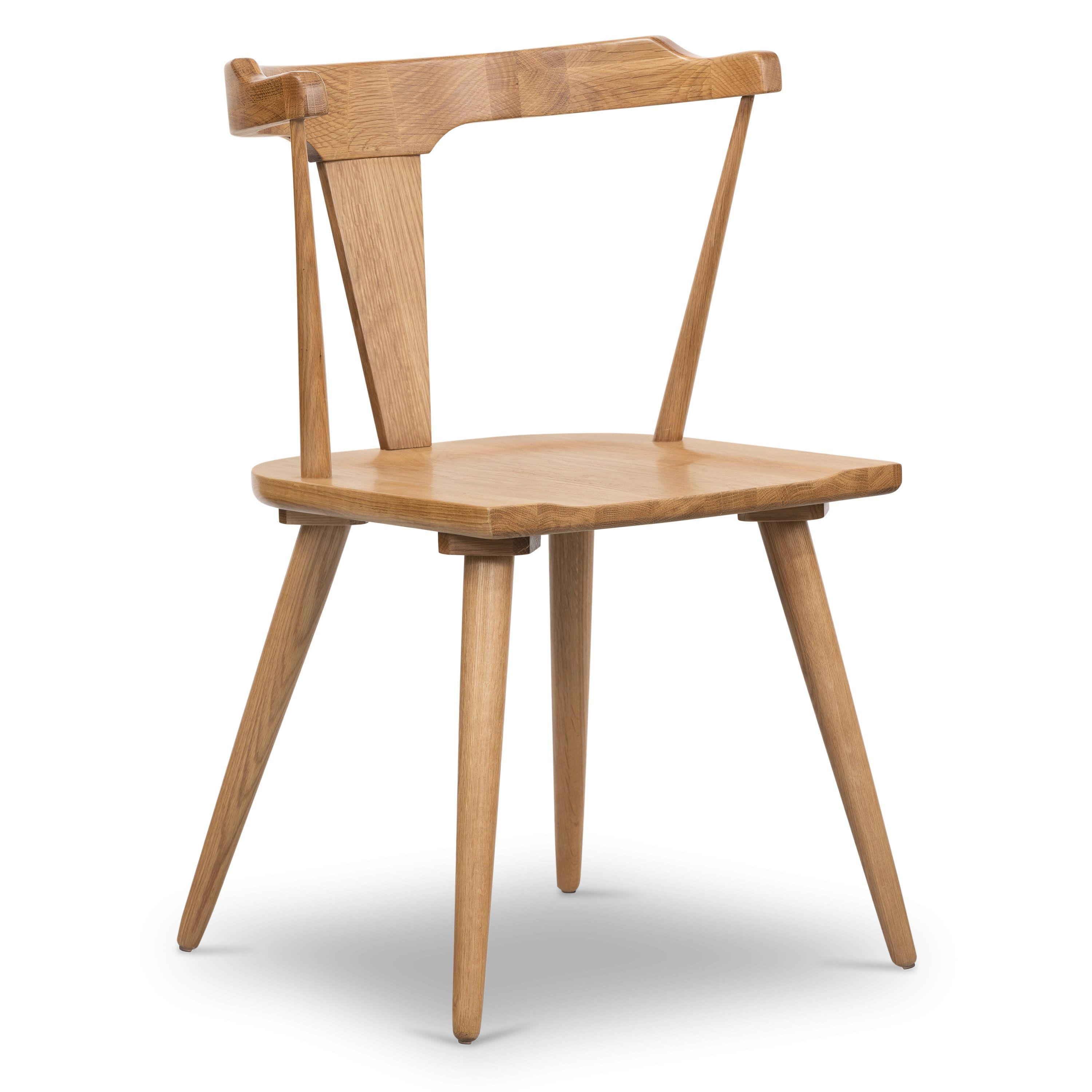 Enzo Dining Chair In 2021 Wood Side Chair Dining Chairs Natural Wood Table Low profile dining chairs