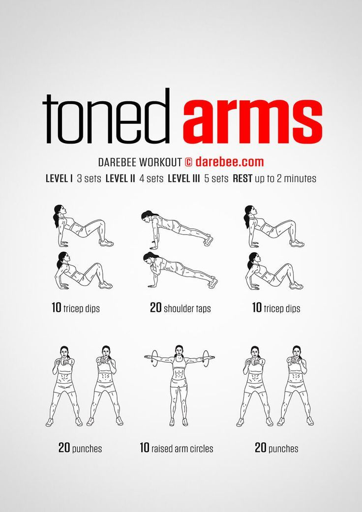 15 Super Easy Workouts To Tone Your Arms At Home –