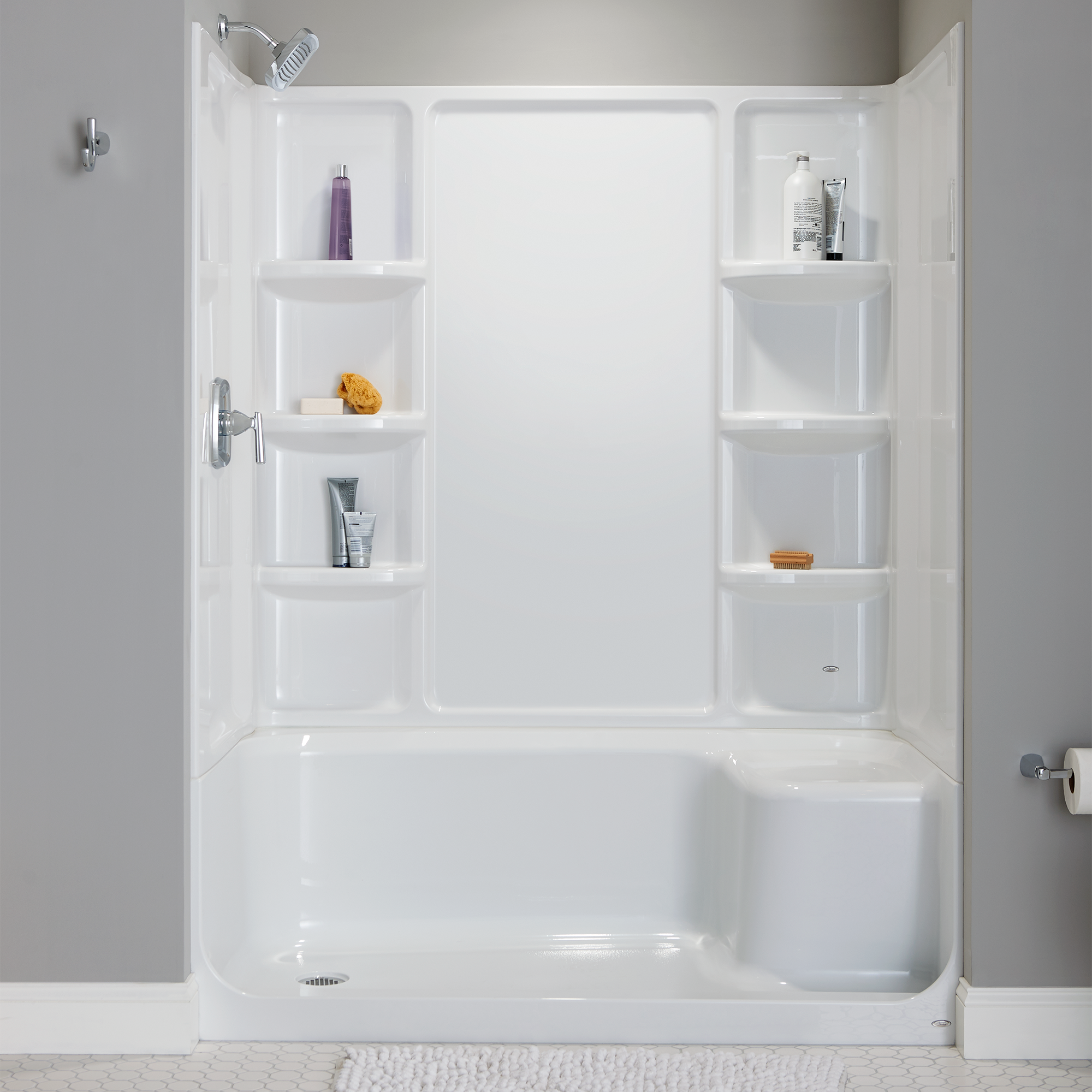 Lowes Showers With Seats.Elevate Shower Base With Built In Seat Lowes American