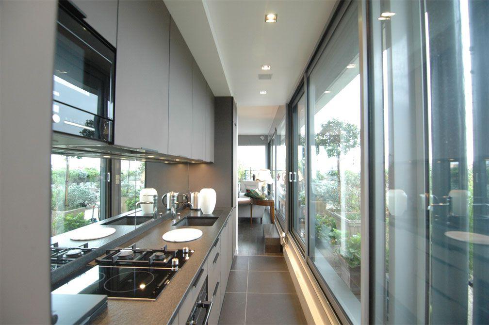 943 - Terrasse Montorgueil  cuisine toute équipée, baies vitrées